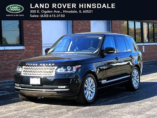 Pre-Owned 2017 Land Rover Range Rover 3.0L V6 Supercharged HSE