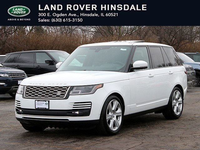 Certified Pre-Owned 2018 Land Rover Range Rover 5.0L V8 Supercharged