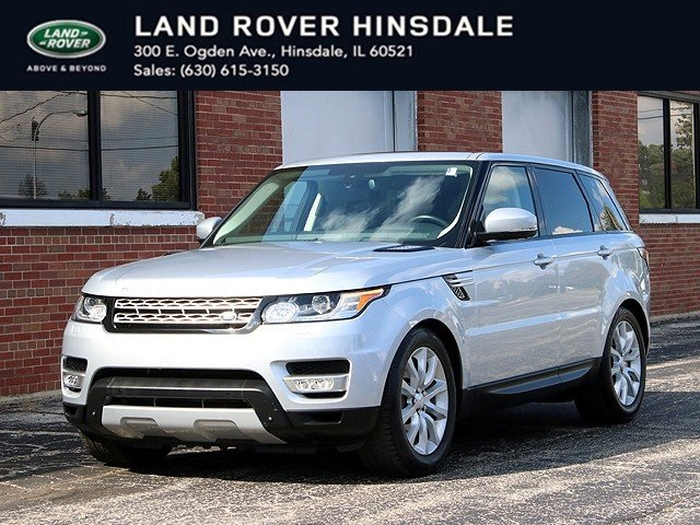 Certified Pre-Owned 2015 Land Rover Range Rover Sport 3.0L V6 Supercharged HSE